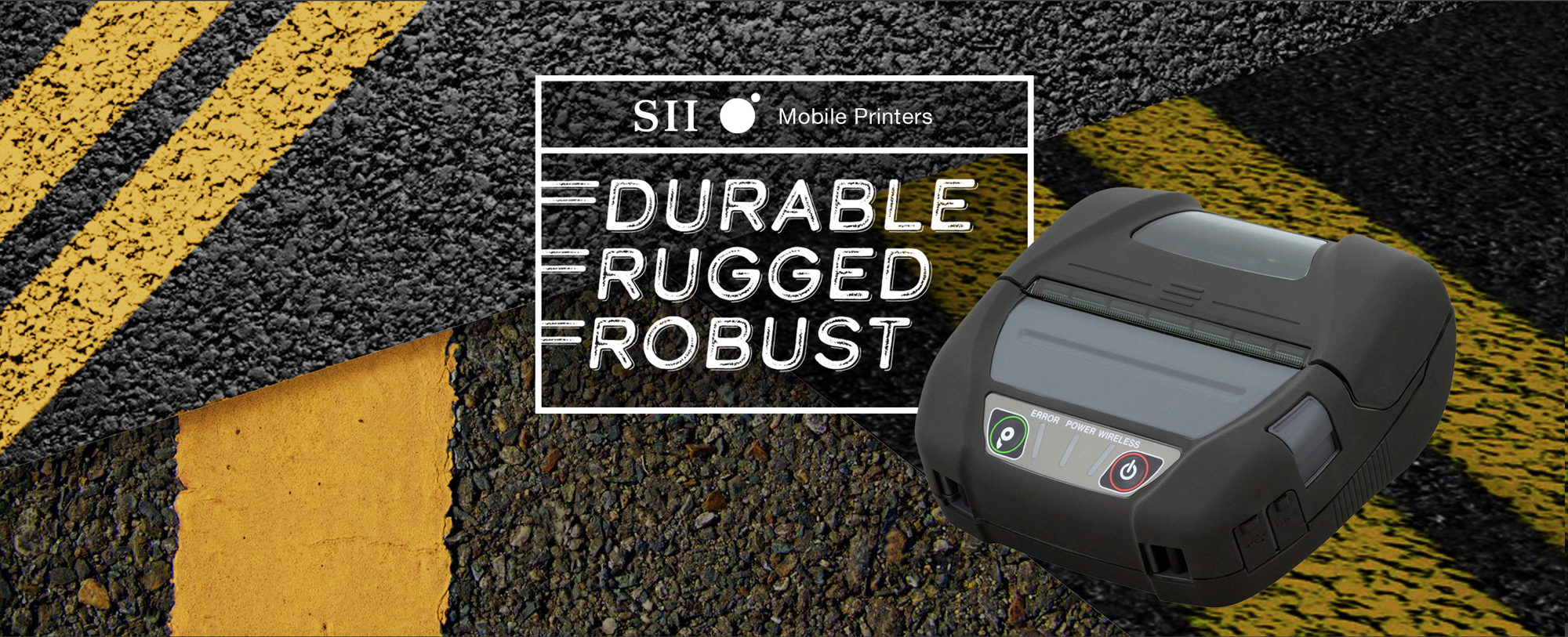 SII Mobile Printers - Durable, Rugged, Robust